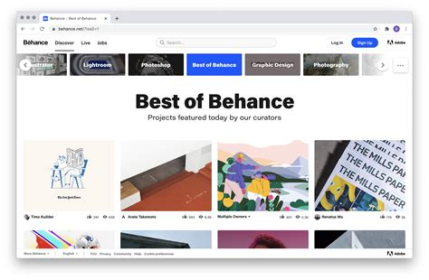 Guide: Intro to Behance - Behance Helpcenter