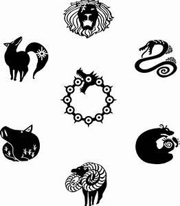 """Nanatsu No Taizai"" Stickers by Mulaan Redbubble"