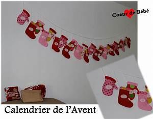Calendrier De L Avent Bebe : swap venez admirer les calendriers coeur de b b ~ Preciouscoupons.com Idées de Décoration