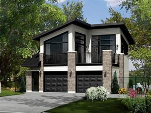 Carriage house plans modern carriage house plan 072g for Carriage house plans modern