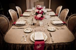 fancy dinner party table | gallery