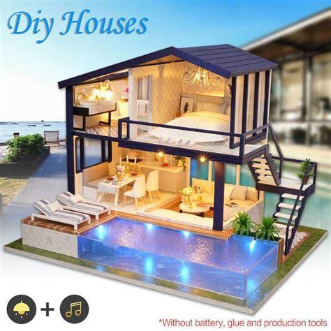 Diy Loft Wohnung by Diy Led Loft Apartments Dollhouse Miniature Wooden