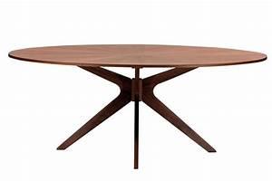 Tisch oval star masssivholz aequivalere for Ovale tische