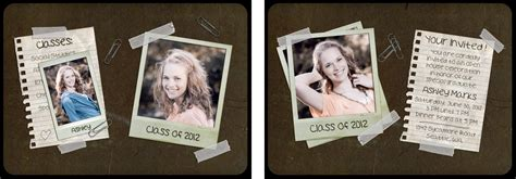 free photoshop templates for photographers 12 free senior photoshop templates images free graduation announcement templates photoshop