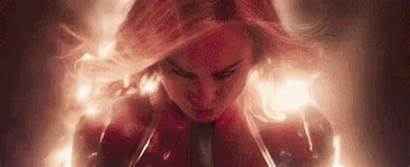 Marvel Captain Gifs Larson Film Brie Danvers