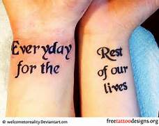 Quote Wrist Tattoos Fo...Quote Tattoos For Girls On Wrist