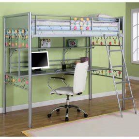metal bunk bed with desk metal bunk bed with desk foter