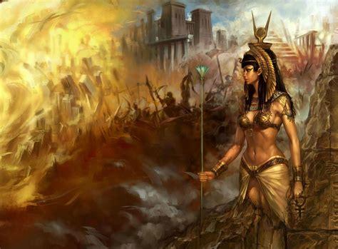 fantasy art artwork egyptian wallpapers hd desktop