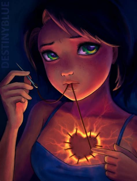 The Beautiful Anime Art Of Destinyblue