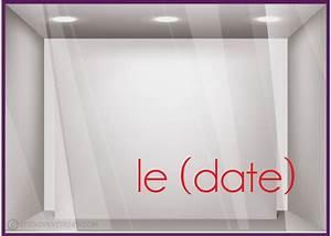 Date Fetes Des Meres : adh sif pour vitre sticker lettrage date f te des m res ~ Melissatoandfro.com Idées de Décoration
