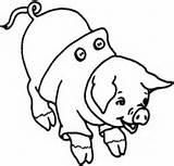 Schwein Lachendes sketch template