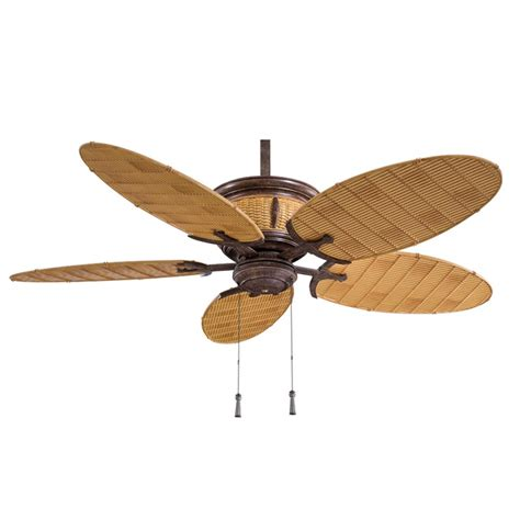 ceiling fans without lights shangri la ceiling fan f580 vr bb vintage rust minka