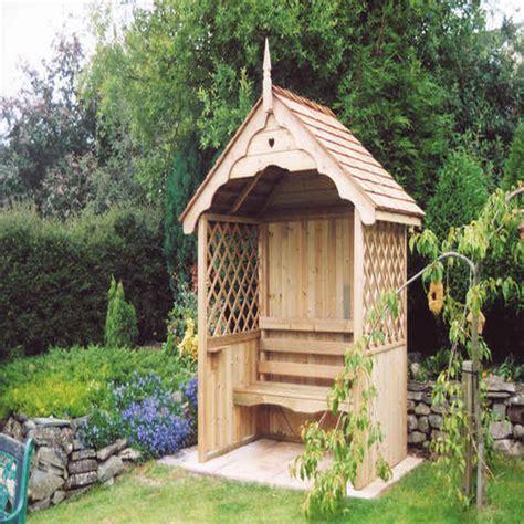 bedrooms design  yard arbors garden arbour seat