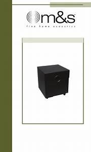 M U0026s Systems Speaker Psw112 User Guide