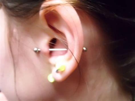 piercing oreille cartilage jenny   blog