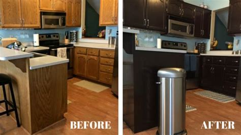 gel stain kitchen cabinets before after how to stain oak kitchen cabinets with java gel stain 8304
