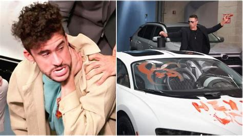 Shocking fans at his wrestlemania debut. WWE: The Miz y John Morrison dañaron el auto deportivo de Bad Bunny en el último RAW previo a ...