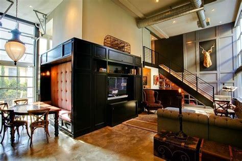 retro interior design  industrial touch   chic la