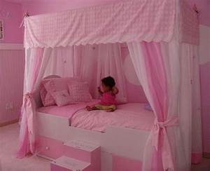 diy princess bed canopy for kids bedroom talentneedscom With diy princess bed canopy for kids bedroom