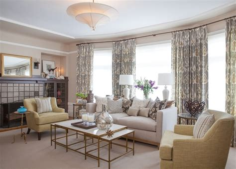 A Warm, Light & Sophisticated Living Room Traditional