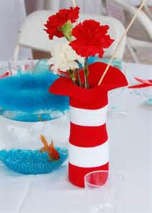 cat in the hat centerpieces the cat in the hat birthday ideas photo 6 of 16