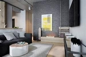 Kontrastfarbe Zu Grau : 1001 atemberaubende ideen f r wandfarbe grau ~ Markanthonyermac.com Haus und Dekorationen