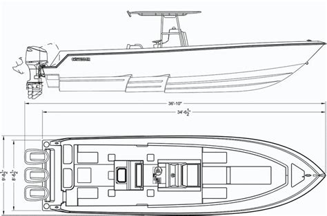 Boat Hull Outline by 35 St Tournament Fishing Boat Contender Boats