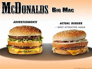 Fast Food Advertisements Vs. Reality - Business Insider