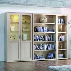 Bibliothèque Moderne Design : biblioth que contemporaine en bois design brin d 39 ouest ~ Teatrodelosmanantiales.com Idées de Décoration