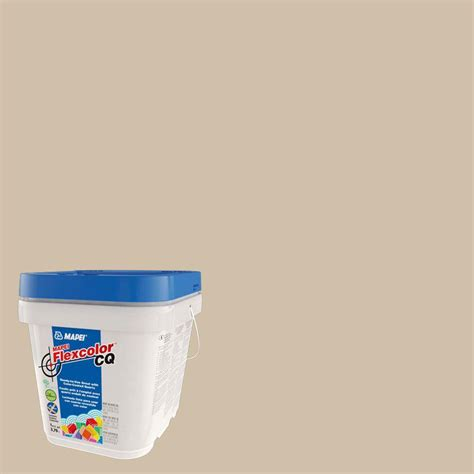 mapei grout mapei flexcolor cq bone 1 gal grout 51501 the home depot