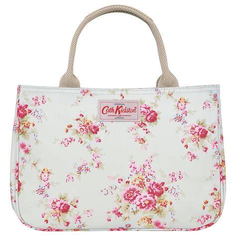 cath kidston ck096trim tote cath kidston washed print cotton small tote handbag