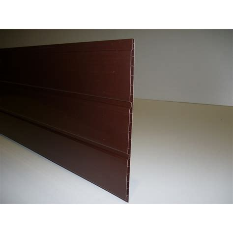 mm  mm hollow soffit board  length brown