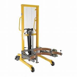 Vestil Drum Lifter  Rotator  Transport With Strap