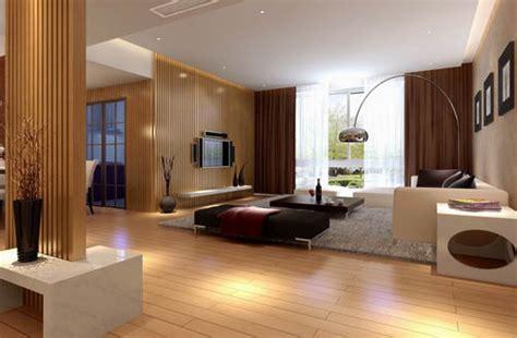 bright  spacious living room design model  model