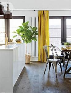 Deco Jaune Moutarde : d co une cuisine moderne avec des l ments industriel ~ Melissatoandfro.com Idées de Décoration