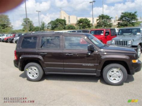 light brown jeep wrangler 2014 jeep patriot sport in rugged brown metallic photo 5