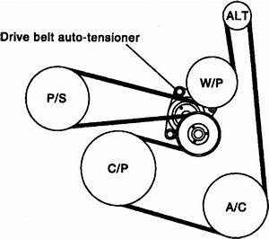 Solved  I Need Diagrama Sepertin Belt Of Nissan 2 5 Altima
