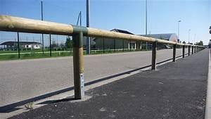 Poteau Bois Rond 3m : cl ture mains courantes en pin trait ~ Voncanada.com Idées de Décoration