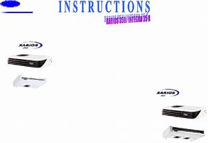 Carrier Xarios 350 Automobile Accessories Instructions Pdf