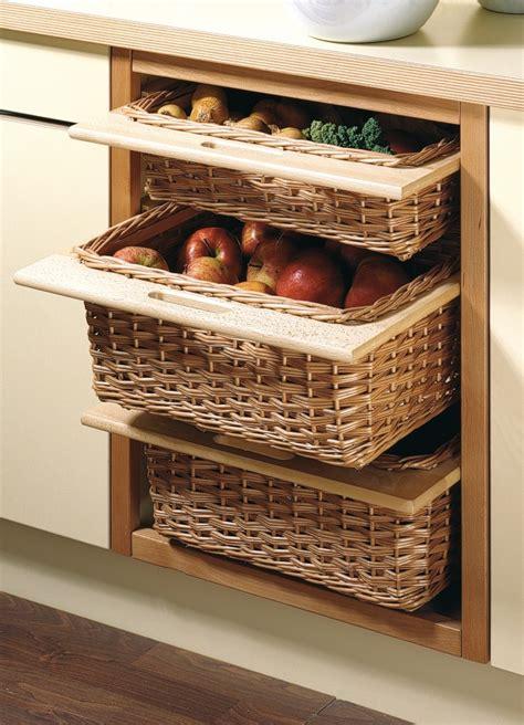 kitchen storage baskets wicker pantry designs for today s kitchen matthews joinery 6141