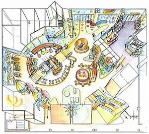 Playground floor plan and design for a Shopping Center in ...