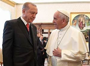 Pope Francis and Turkey's President Erdoğan discuss ...