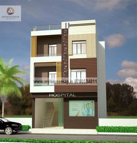 modern elevation design  residential buildings front