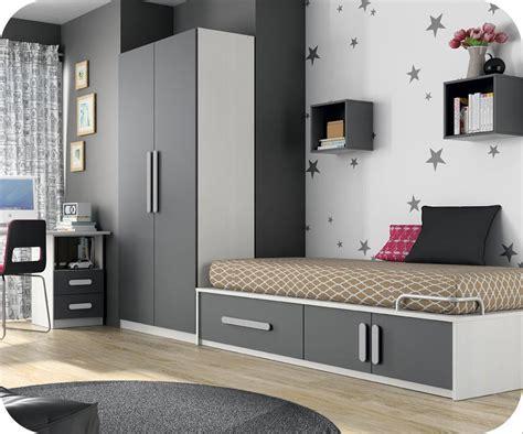 chambre to chambre enfant planet blanc et gris anthracite