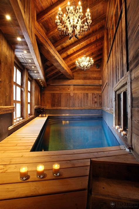 Chalet Lhotse Rustic Yet Glamorous In by Home Theater With Pool Chatel Lhotse Val D Isere