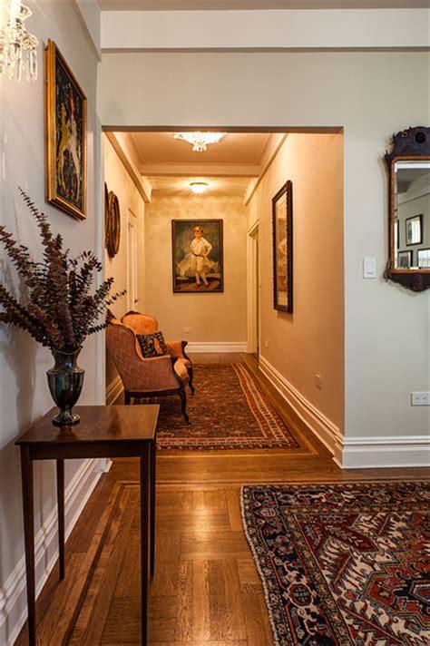 pre war apartment traditional living room  york  virtus design
