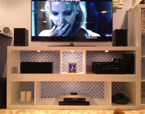 sarahs simple  stylish ikea hack  stack tv stand