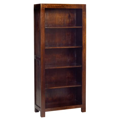 Assembled Bookcases by Toko Mango Bookcase 5ft 8 Fully Assembled Oak World