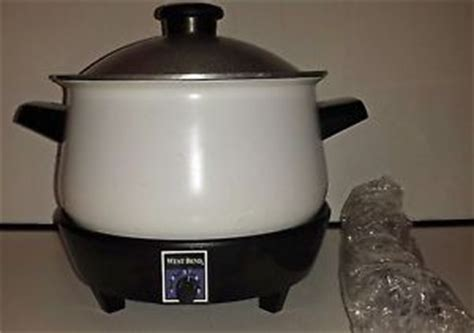 West Bend Round Slo Slow Cooker Model 84194 With Vintage