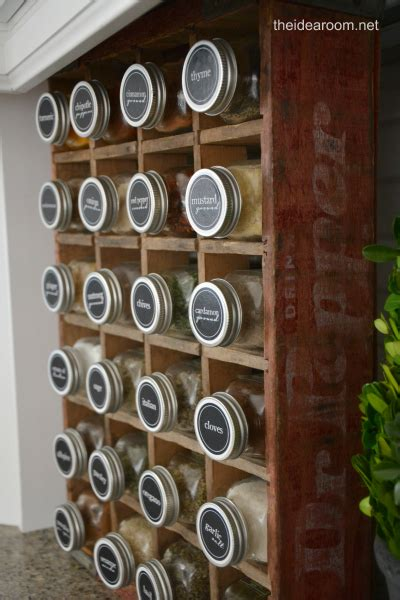 Spice Rack Stickers by Spice Organizing Ideas And Free Labels The Organized